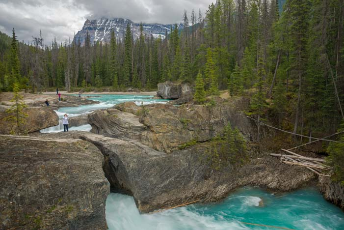 Yoho National Park Natural Bridge Canadian Rockies