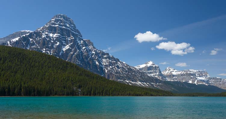 Waterfowl Lake Banff National Park Icefields Parkway