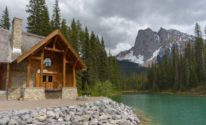 Emerald Lake Lodge Emerald Lake Yoho National Park British Columbia Canadian Rockies