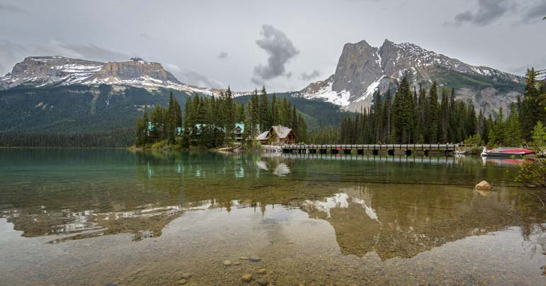Emerald Lake Lodge Yoho National Park Canada