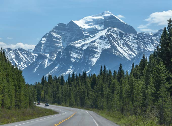 Canadian Rockies Icefield Parkway Banff National Park