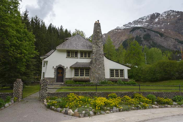 Yoho Natioanl Park Superintendant's House British Columbia