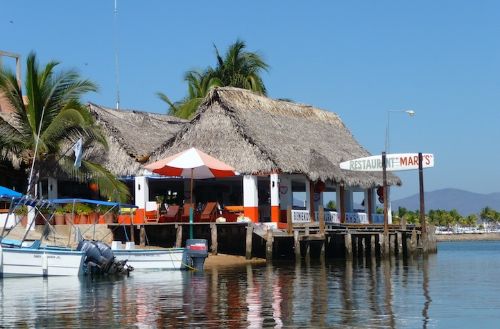 Barra de Navidad boat-in bar Costalegre Pacific Coast Mexico