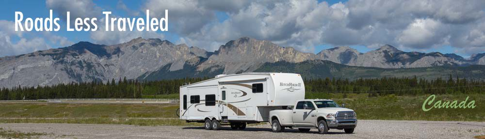 Canada Rocky Mountains RV travel