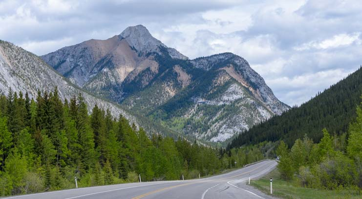 Kananaskis Country RV travel Canadian Rockies