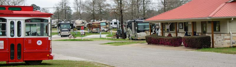 Escapees RV Club Rainbow's End RV Park