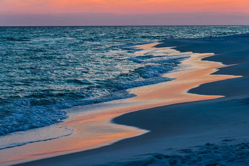 Sunrise Florida Gulf Coast beach