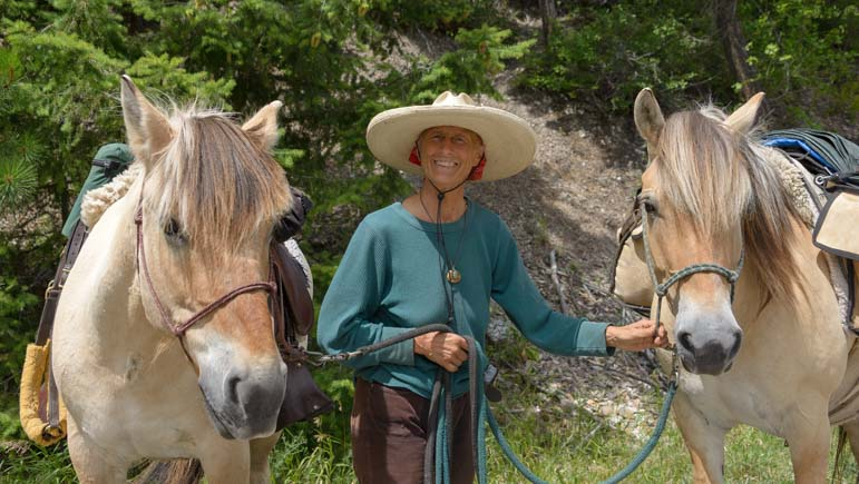 Bernice Ende on 28,000 mile long horse back ride