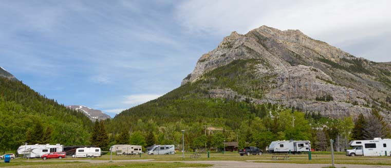 Townsite Campground Waterton Lakes National Park Alberta Canada