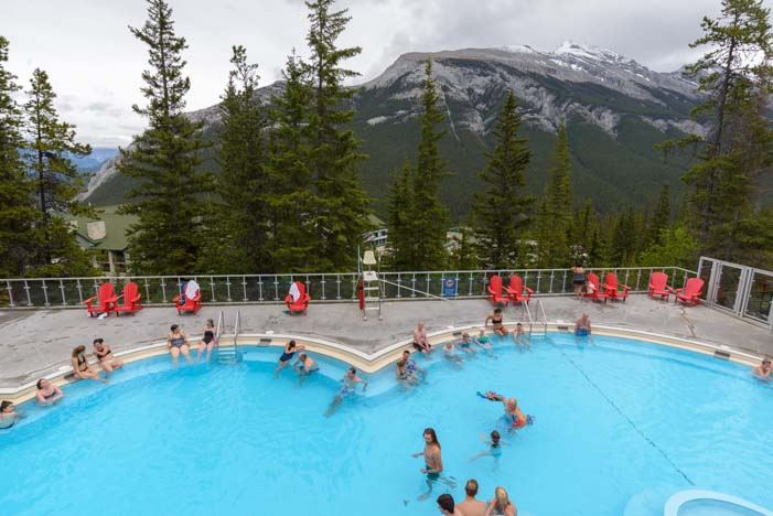 Banff Upper Hot Springs Alberta Canada