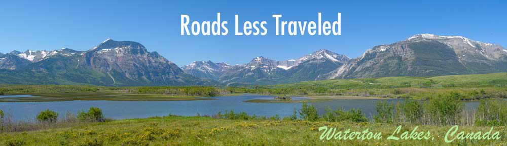 Waterton Lakes National Park RV Travel in Canada