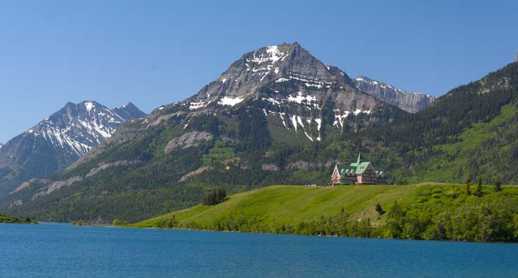 Prince of Wales Hotel Waterton Lakes National Parks Canada