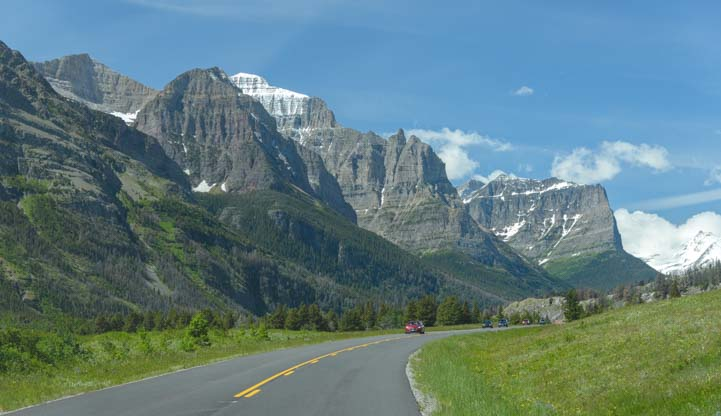 Going to the Sun Road Glacier National Park Montana