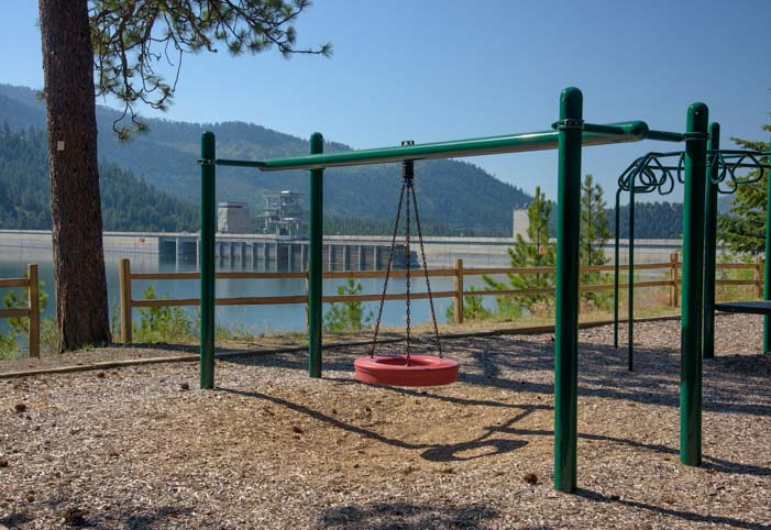Corps of Engineers Playground Libby Montana
