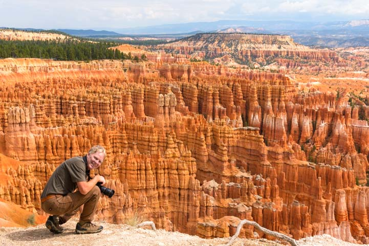 Photography at Bryce Canyon National Park Inspiration Point Utah
