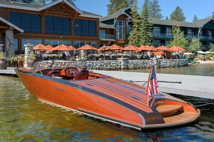 Antique wooden boat show Shore Lodge McCall Idaho Payette Lake