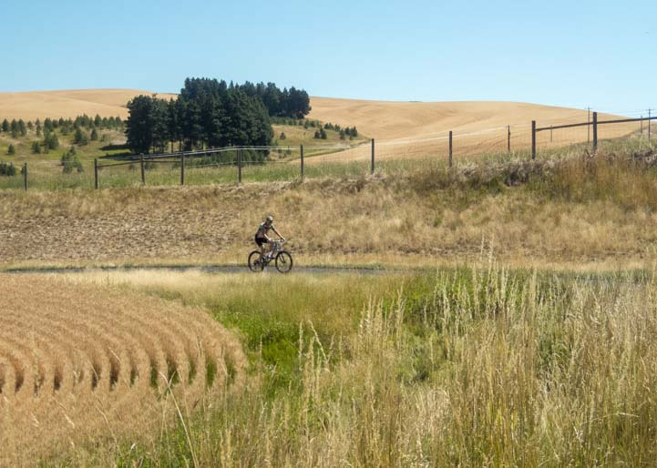 Latah Trail from Moscow to Troy Idaho