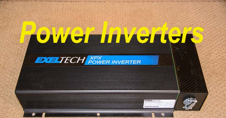 Power inverter for an RV - an Exeltech XPX 2000 watt inverter