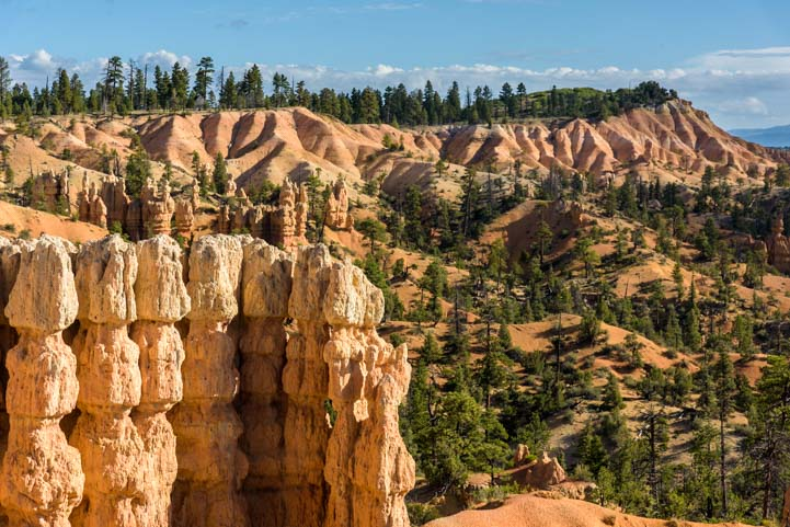 Hike at Fairyland Point Bryce Canyon National Park Utah