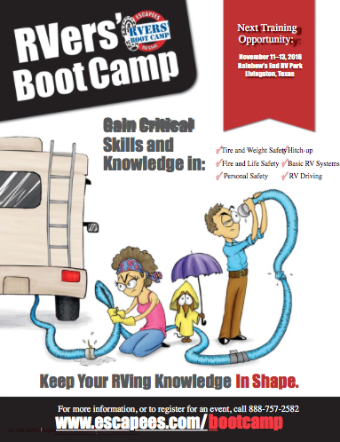 RVers BootCamp at Escapees RV Club