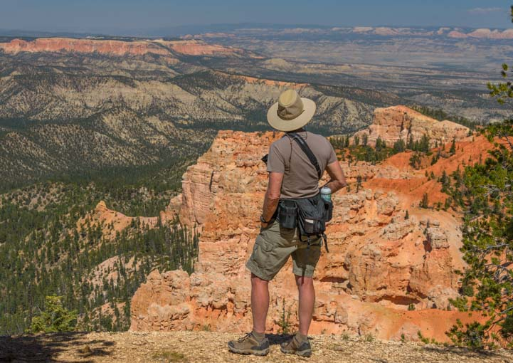 Hiking Rainbow Point Bryce Canyon National Park Utah