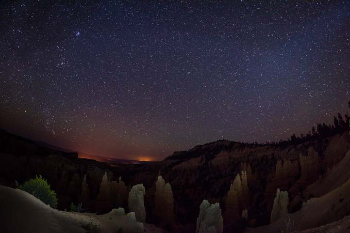 Fairyland Point Bryce Canyon National Park Night Sky