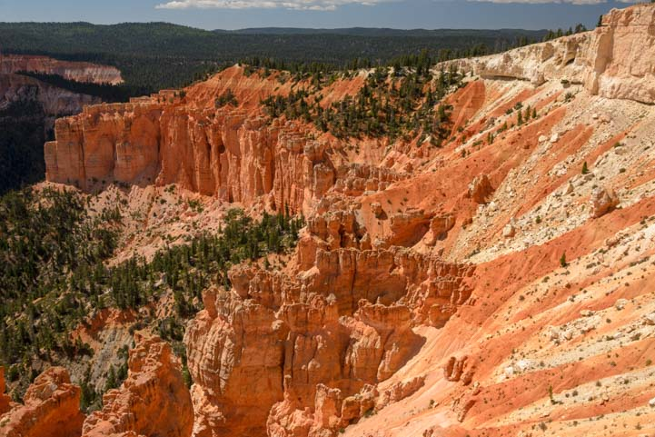 Rainbow Point View Bryce Canyon National Park Utah