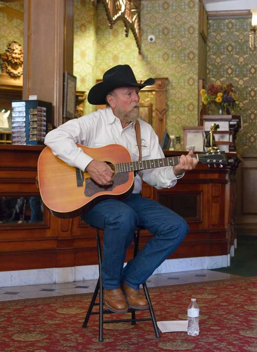 Don Cadden at Durango Cowboy Poetry Gathering