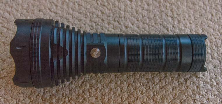 Lumintop SD75 tactical Flashlight tripod mount