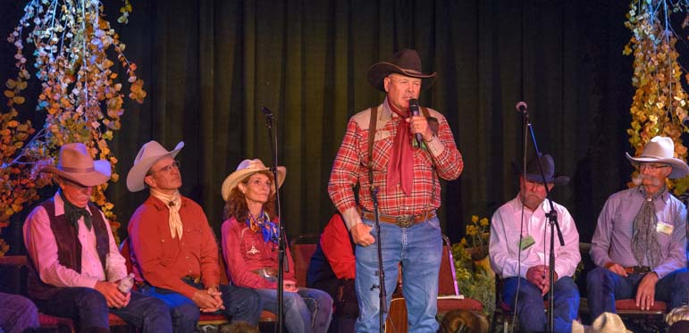 Durango Cowboy Poetry Gathering on stage