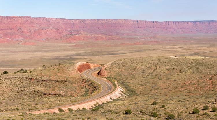 Road in Vermillion Cliffs National Monument Arizona