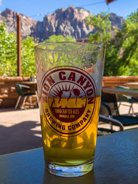 Zion Canyon Brewing Company Zion National Park Utah