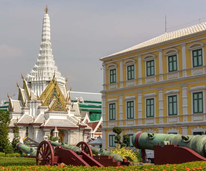Ministry of Defence Grand Palace Bangkok Thailand
