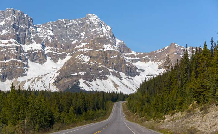 Icefields Parkway Banff National Park Alberta Canada