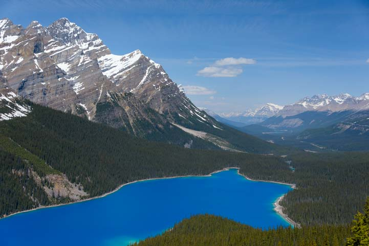 Peyto Lake Icefields Parkway Banff National Park Alberta Canad