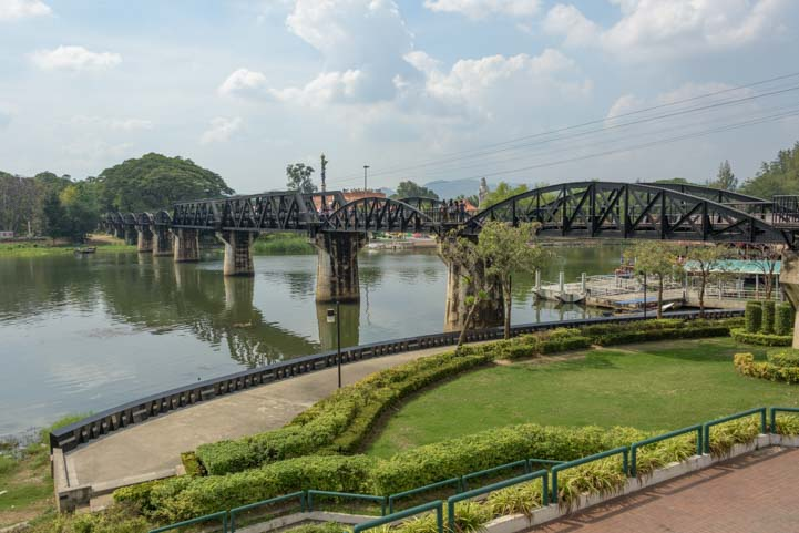 Bridge over the River Kwai Kanchanaburi Thailand