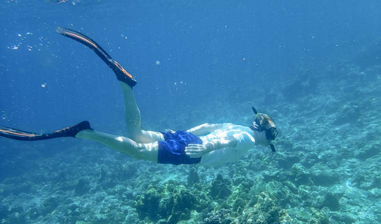 Diving Dive and Relax Snorkeling Tour Ko Rok in Ko Lanta Thailand