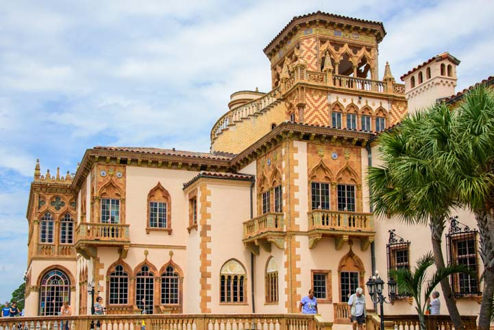 The Ringling mansion Sarasota Florida