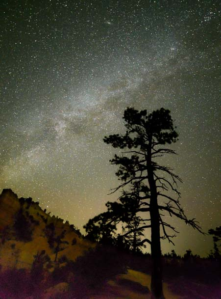 Milky Way Bryce Canyon National Park Fairytale Canyon