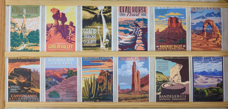 National Parks WPA Postcards