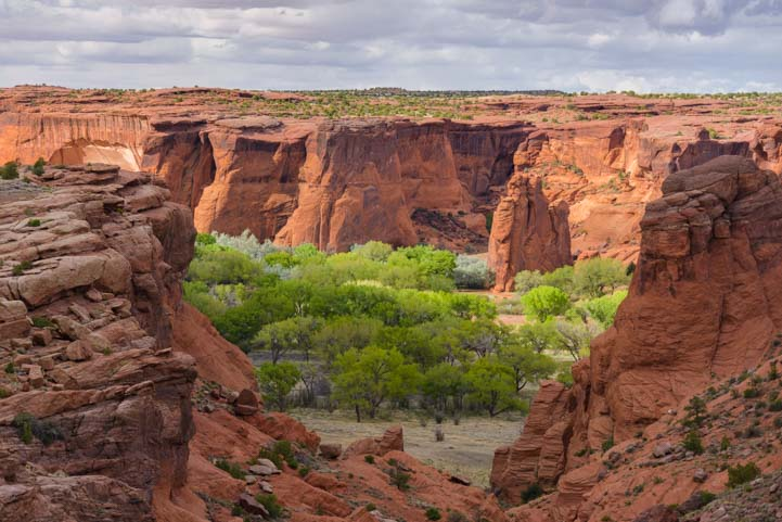 Tunnel Overlook Canyon de Chelly National Monument Arizona