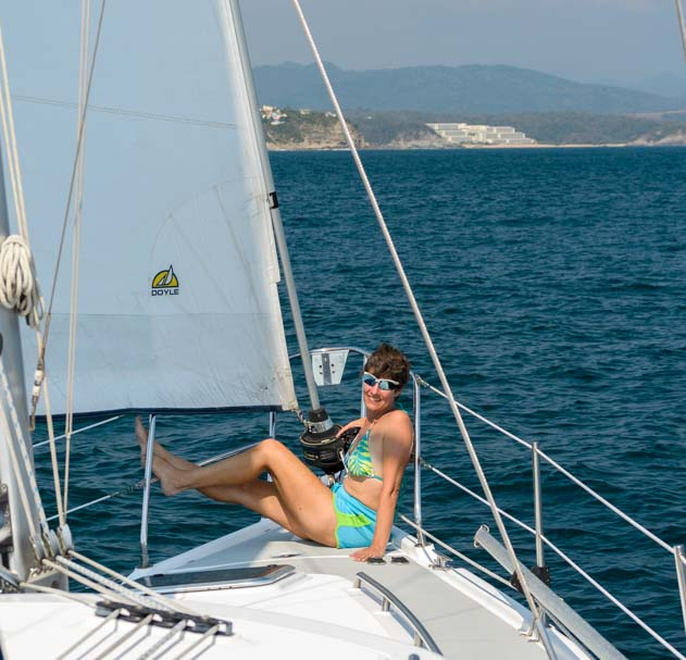 Sailing in the Bays of Huatulco Mexico