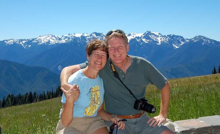 RVers at Hurricane Ridge Olympic National Park Washington