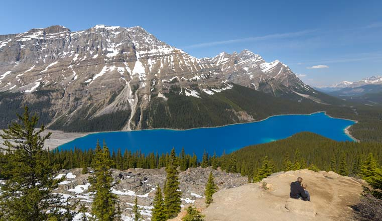 Peyto Lake Icefields Parkway RV Trip to Canada