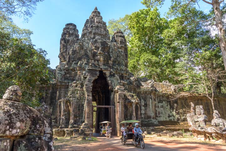 Angkor Wat temples Cambodia adventure travel