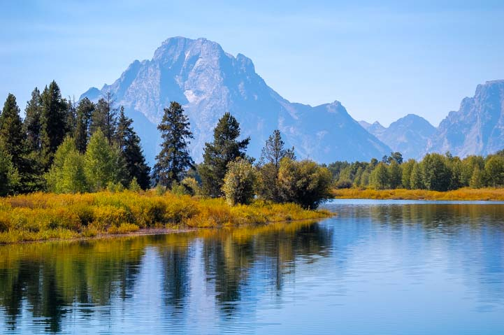 Grand Teton National Park Wyoming RV travel