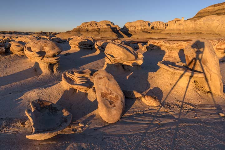 Photography at the Eggs Bisti De-Na-Zin Wilderness New Mexico