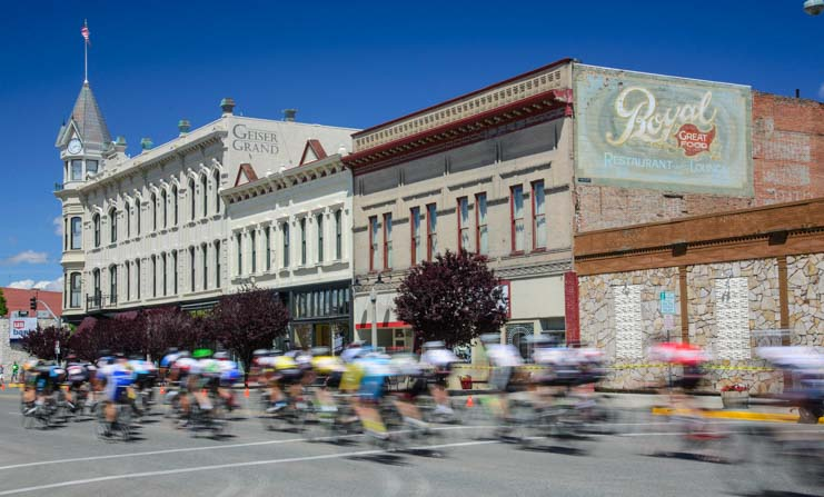Baker City Oregon annual bicycle race