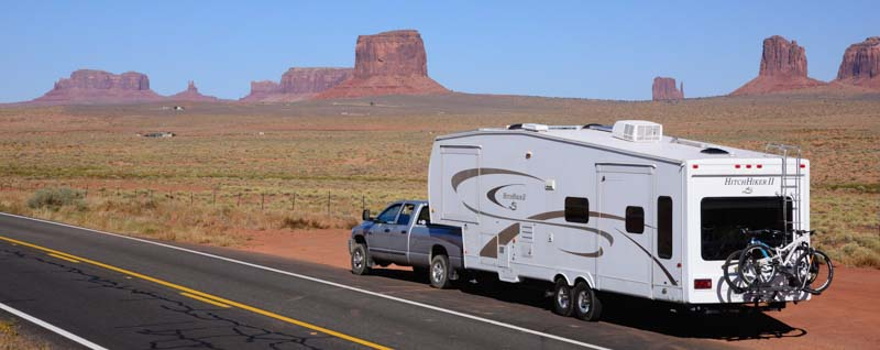 RV trip to Monument Valley Arizona
