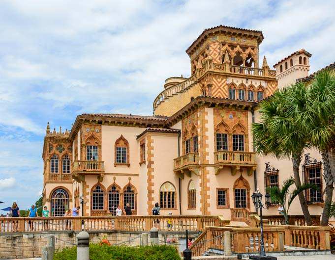 The Ringling Mansion and Museum Sarasota Florida RV trip